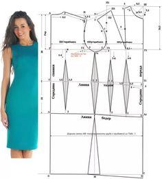 Как сшить платье футляр своими руками для начинающих выкройки фото