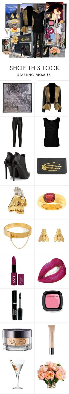 Sunday Night Out by sabinamakili on Polyvore featuring мода, Phase Eight, Alexander McQueen, Yves Saint Laurent, Bernard Delettrez, Cartier, Eddie Borgo, Alex Monroe, Urban Decay and Christian Dior