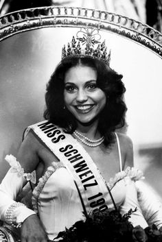 Lolita Laure Morena - Miss World Switzerland 1982