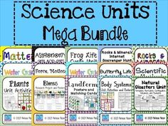 MEGA Bundle of Science Units!