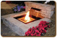 fire and water features outdoor Pergola Garden, Deck With Pergola, Outdoor Pergola, Pergola Plans, Outdoor Fire, Pergola Kits, Backyard Landscaping, Outdoor Living, Pergola Ideas