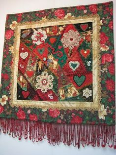 crazy quilt images | Beadlust: A Few Thoughts about Christmas