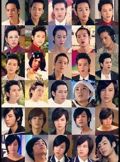 Jang Keun Suk ~~ The many faces of Hwang Tae Kyung ♥____♥
