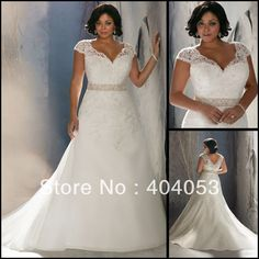 Find More Wedding Dresses Information about Waist Crystal Beaded Chapel Train Free Shipping Cap Sleeves Lace White Tulle Plus Size Wedding Dress 2013 New Design EG1503,High Quality dress womens,China dress sleeveless Suppliers, Cheap dress summer from Suzhou Romance Apparel Co.,Ltd on Aliexpress.com