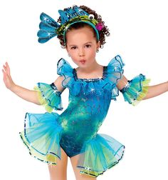 A Wish Come True Dance 2018 : Under The Sea Childs Character Dance Costume Dance Costumes Kids, Halloween Costumes For Girls, Girl Costumes, Fish Costume Kids, Dance Outfits, Dance Dresses, Costume Poisson, Under The Sea Costumes, Little Mermaid Costumes