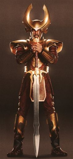 Heimdall (Thor: Idris Elba as Heimdall Costume)