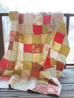 Making a patchwork quilt is on my list of things to do one day. I'm going to start with a cushion & work my way up!