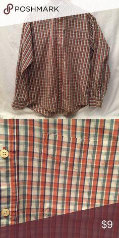 Men's Button Up Plaid shirt / No brand / Size XL {1} Shirts