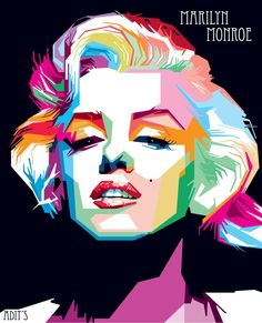 Monroe Wpap by adityasp.deviantart.com on @DeviantArt