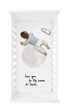 mylittlelove, crib, crib sheet, crib sheets, cot, cot sheet, cot sheets, baby spannbettlaken, babylaken, baby, nursers, mint, nurseryinspo, nursery decoration, barnrum, kinderkamer, kinderzimmerstyling, kinderzimmerdeko, babyzimmer, babyroom, love you to the moon and back, quote, quotes, gender neutral, magazine cover, instyle, magazine, interior, interiorinsp, fitted sheet, fitted crib sheet, moon, mond