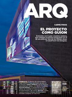 Tapa de la edición impresa de ARQ del martes 24 de noviembre de 2015
