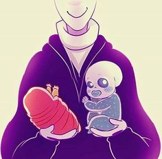 Gaster,Papyrus and Sans Undertale Gaster, Undertale Cute, Undertale Fanart, Gaster Sans, Frisk, Baby Sans, Sans Cute, Sans And Papyrus, Toby Fox