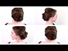 5 Minute Party Updo! video tutorial