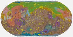 A Beautifully Detailed New Geologic Map of Mars   Geology IN