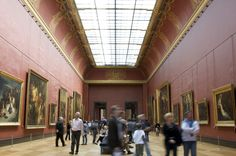 the great hall-Louvre