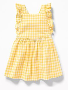 799e2a5543d015 Printed Jersey Apron Dress for Baby Old Navy Toddler Girl, Toddler Girl  Outfits, Baby