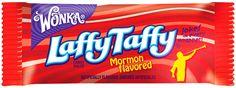 15 Laffy Taffy jokes only Mormons will understand #LDS #Mormon #twitterstake