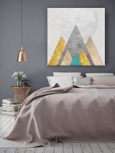 Obraz na zeď Movement of God / Dan Johannson Dan, Ottoman, Bedroom, Furniture, Design, Home Decor, Decoration Home, Room Decor
