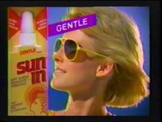 Sun In  - Put Sun In Your Hair  - Product -  Bleacher Highlights Commercial (1989) - YouTube