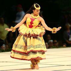 """Kayli Kaʻiulani Carr 2016 Miss Aloha Hula. Performing """"Eō Keōpuolani Kauhiakama"""" and """"Ka Makani Kā'ili Aloha."""" The most amazing chanting I have seen at Merrie Monarch over the last 20 years."""