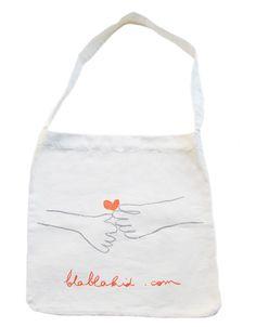 www.blablakids.com Blabla tote red heart.