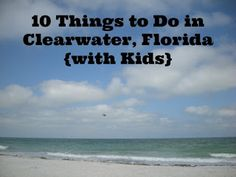 For future reference 10 Things to Do in Clearwater, Florida with kids.