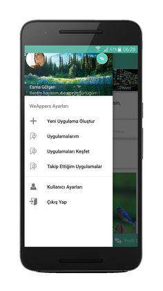 WeAppers ile kendi mobil uygulamanızı oluşturun. Uygulamanıza Google reklamlarını entegre ederek para kazanabilirsiniz.   Tamamen Türkçe ve kullanımı kolay. Şimdi hemen deneyin !   https://play.google.com/store/apps/details?id=com.weappers.weappers