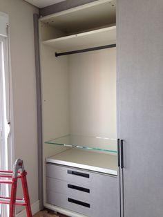 Armario do quarto (Kitchens) acabamento Tweed