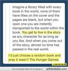 Baha. Sadness.... But imagine how awesome this would be.
