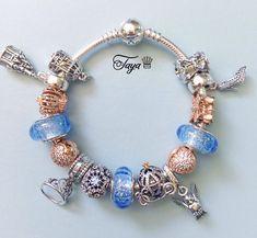 Cinderella Pandora bracelet, courtesy of Taya from Pandora's Angels