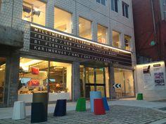 Millimeter Milligram (MMMG) Store & Lounge: Stationery galore.