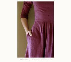 field dress, filly, fall 2010