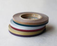 mt Washi Masking Tape - 2 Tone Slim