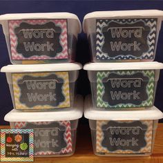 Word Work: Is it too much work for you? - Hanging with Mrs. Hulsey