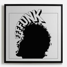 'FFFFunk' Framed Print - Land of Lost Content Collection | Shop Framed Prints & Wall Murals at surfaceview.co.uk