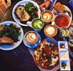 Urth Cafe  #UrthCafe #Latte