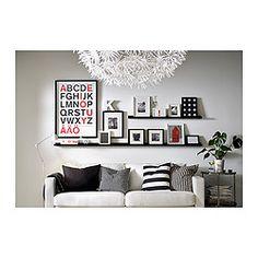 RIBBA Tavelhylla från Ikea, idé för vårt vardagsrum?