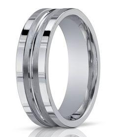 white gold wedding bands for men