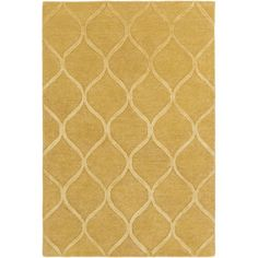 Found it at Wayfair - Urban Cassidy Hand-Tufted Gold Area Rug