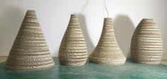 Lampade 5 STELLE: serie di lampade a sospensione dalle identiche dimensioni, ma forma differente