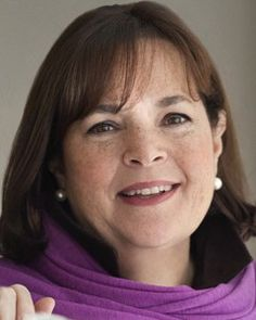 Ina Garten, Barefoot Contessa, 64.  Sometimes I think that Ina and I are friends. :)