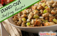 Step Up Your Holiday Stuffing with These Recipes | via @SparkPeople #food #thanksgiving #holiday #fall