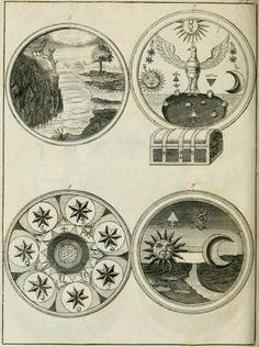 Alchemy:  Johannis Conradi Barchusen Elementa chemiae, 1718.  An Alchemy artwork.