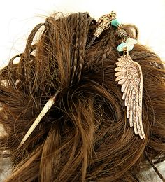 Hair Stick Turquoise Native American Hairstick by DesignsBloom, $26.99