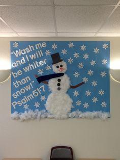 winter bulletin board | Winter bulletin Board | BIBLE SCHOOL CRAFTS
