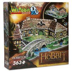 Games - 3D Hobbiton Jigsaw Puzzle 363pce