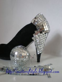 too cool!!!  Discoball heels