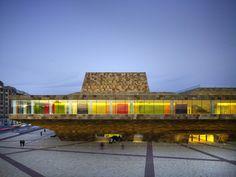 La Llotja Theatre and Conference Centre, l'Avenida de Tortosa, Lleida, Spain by Mecanoo