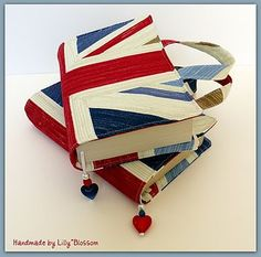 Union Jack Cotton Fabric Book Bag