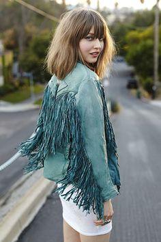 Fabulous #fringe #SaksStyle